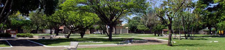 Praça na cidade