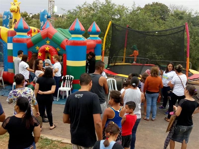 Mil pessoas participam do Domingo Alegria no Vida Nova