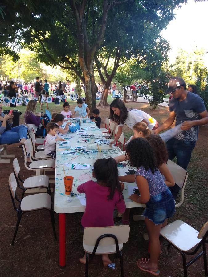 <i>Em três dias, Férias no Parque recebe seis mil pessoas</i>