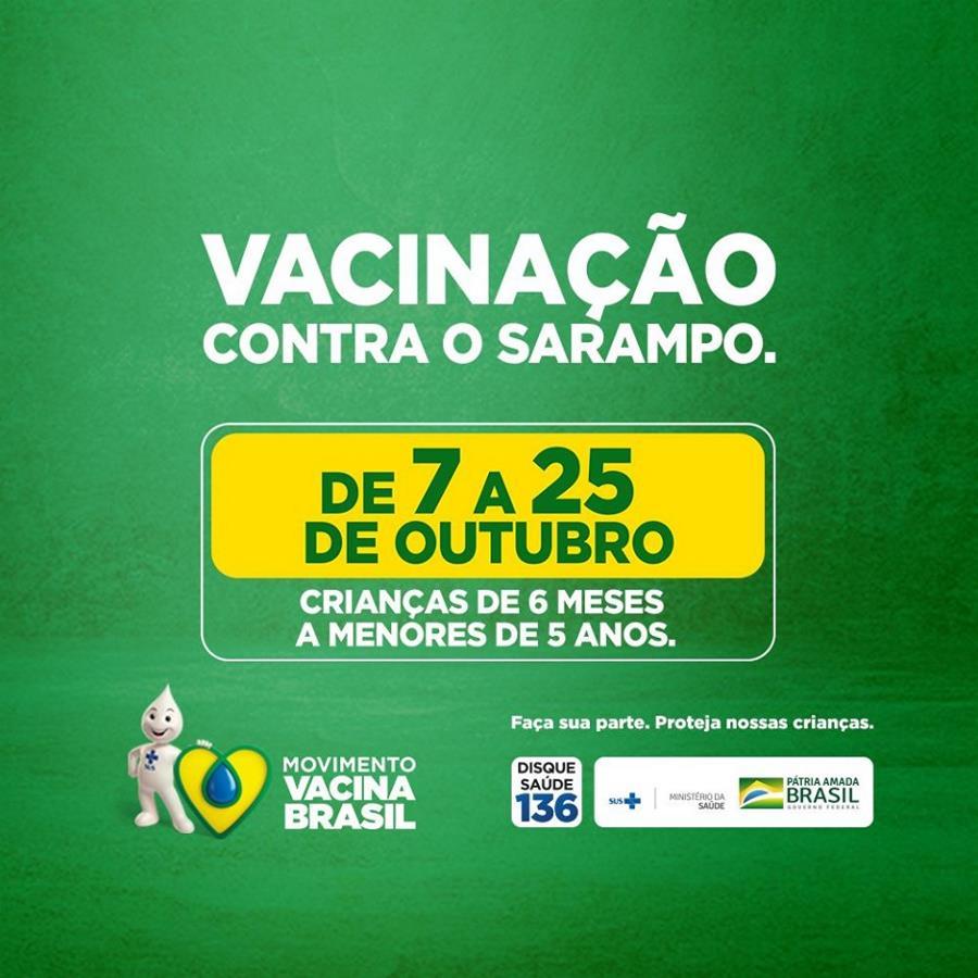 Resultado de imagem para SAÚDE/BRASIL: CAMPANHA NACIONAL CONTRA O SARAMPO COMEÇA NESTA SEGUNDA-FEIRA