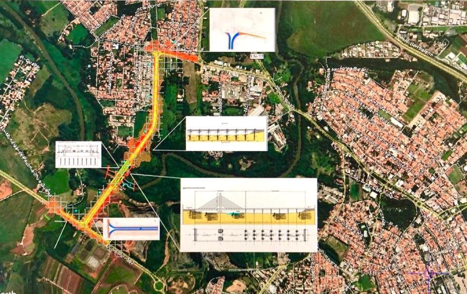 Prefeitura lança edital para construir nova ponte sobre Rio Atibaia