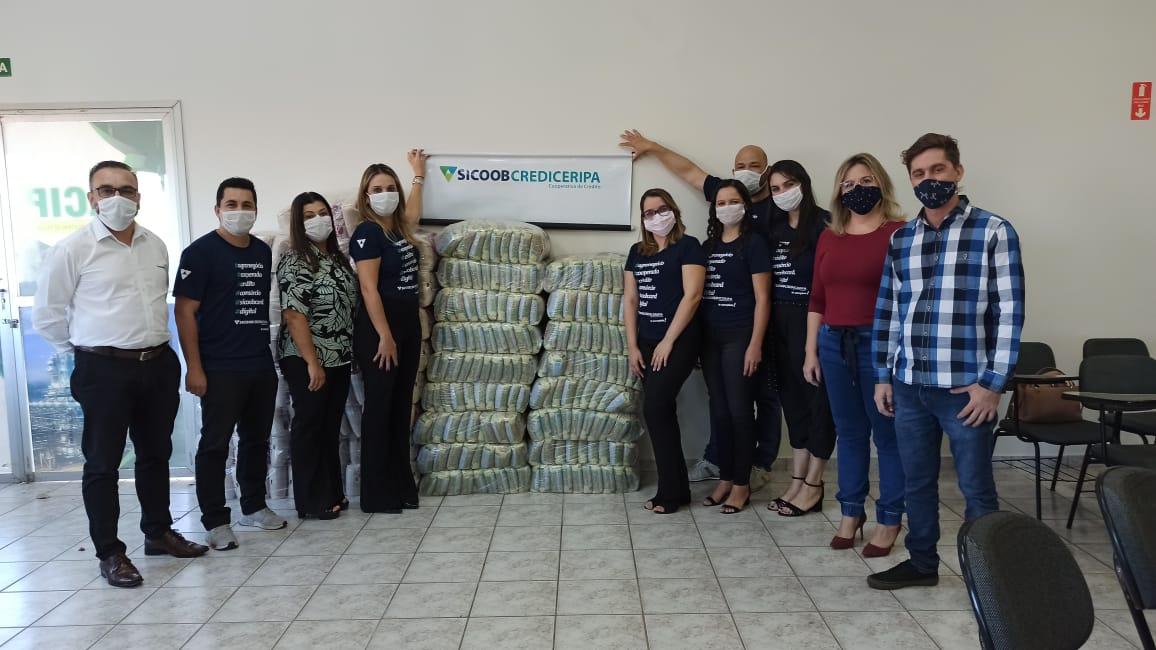 Fundo Social recebe doação de alimentos interdiadapela ACIP