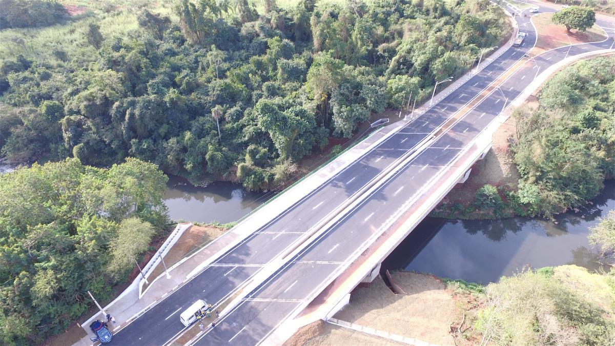Novo sistema viário da Estrada da Rhodia está liberado para o uso