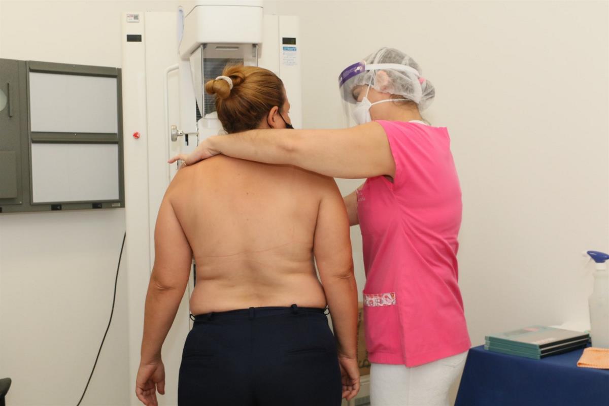 Prefeitura realiza mutirão de mamografia
