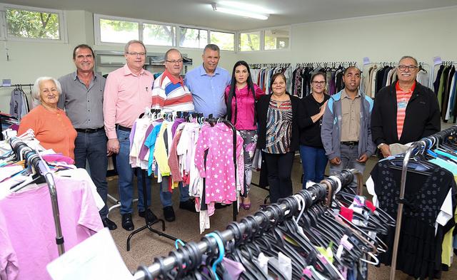 Arrecadação atinge 43.120 mil peças de roupas e cobertores