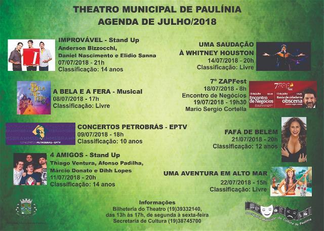 THEATRO MUNICIPAL DE PAULÍNIA