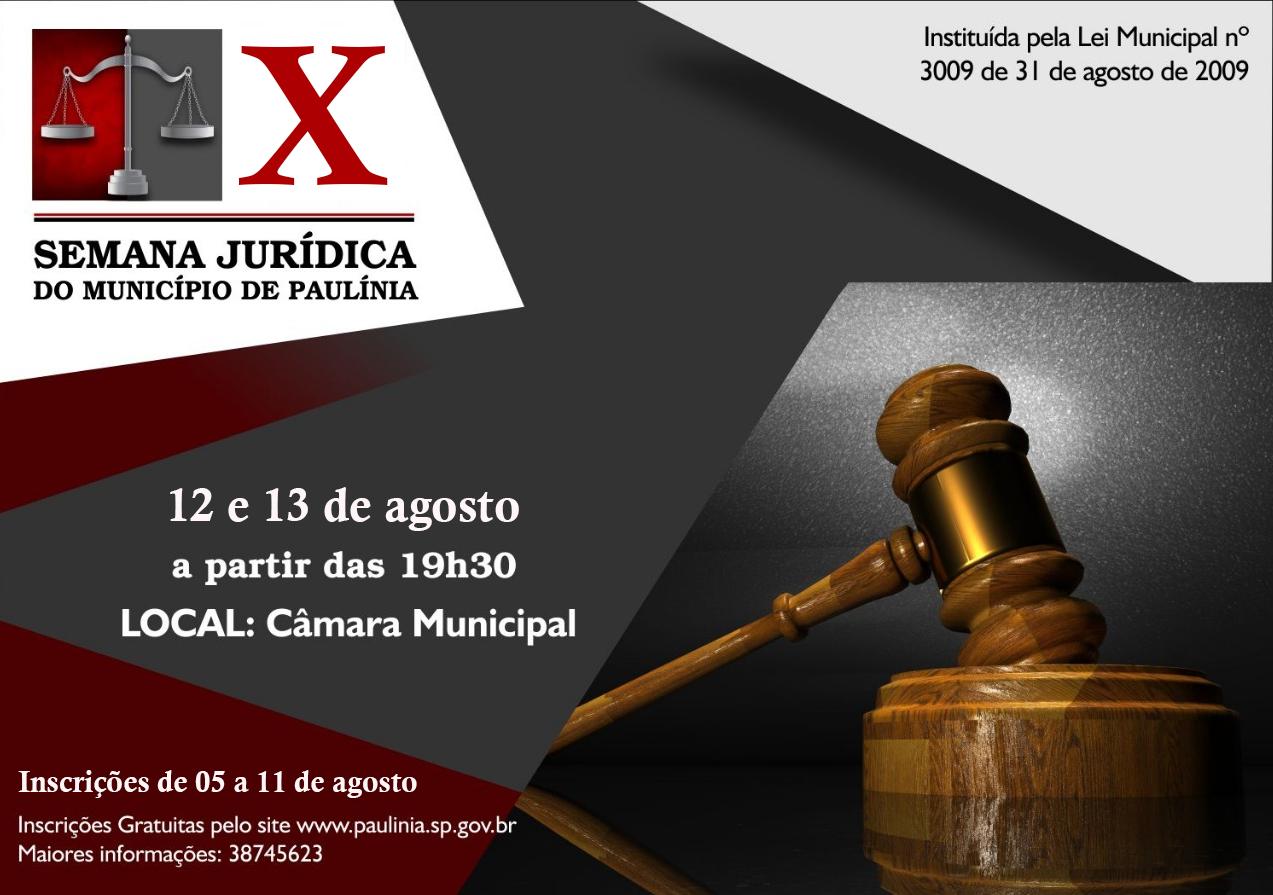 X Semana Jurídica
